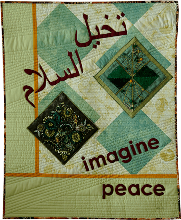 Quilt Imagine Peace von Gabriele Bach